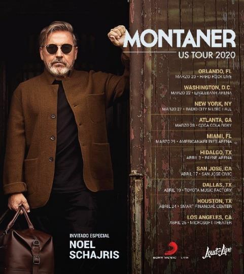 MONTANER US TOUR 2020