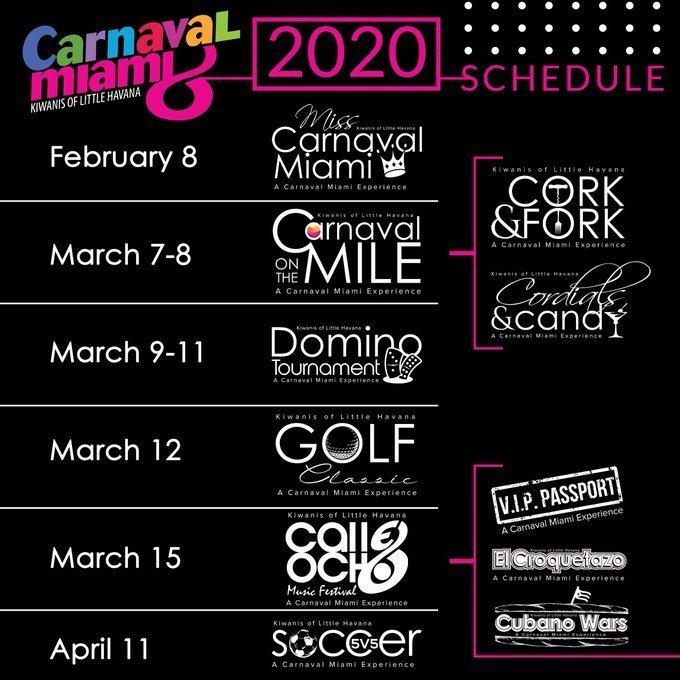 Cuándo es el Miami Calle Ocho Music Festival 2020