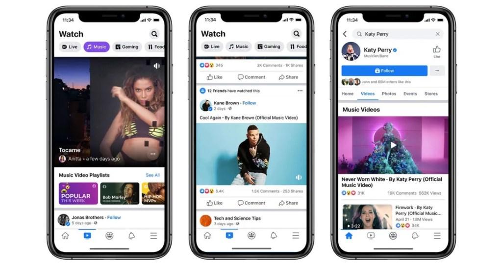 videos facebook musica latina 2020