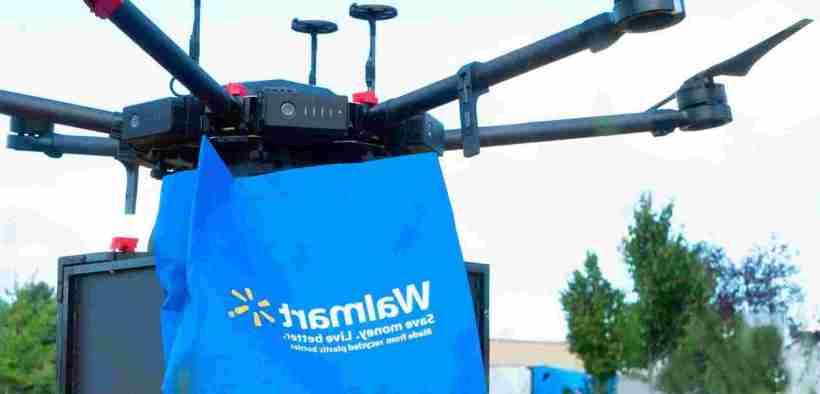 Walmart Drones