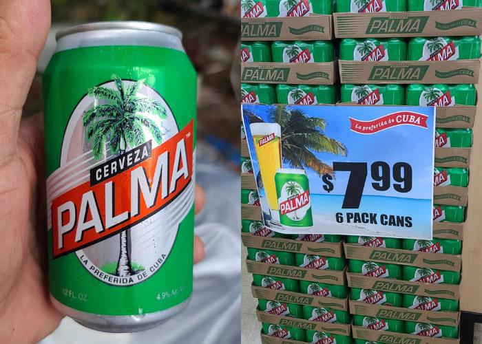 Cerveza Palma Cristal