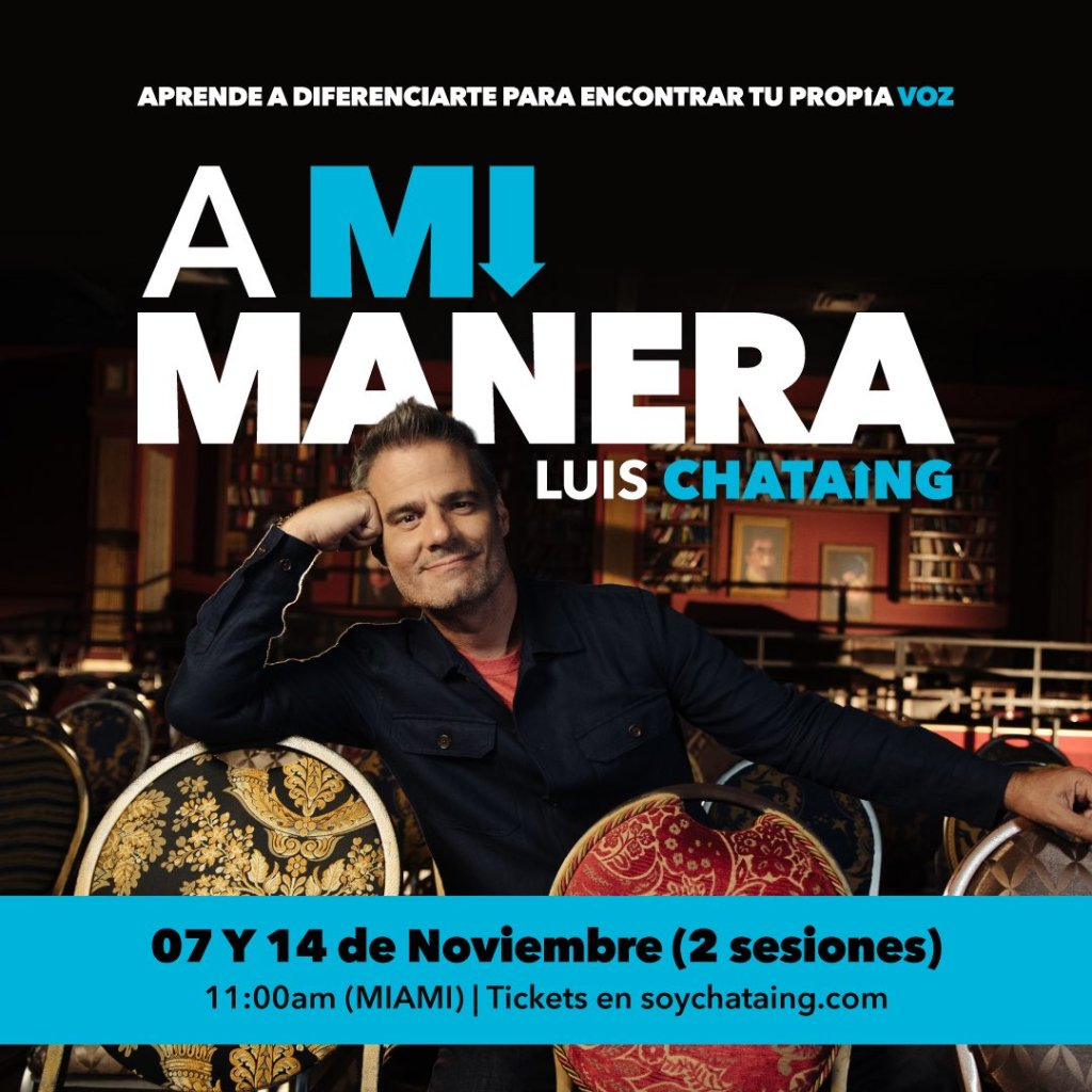 evento on line a mi manera luis chataing