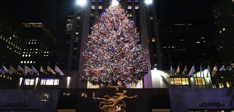 Rockefeller Center Árbol Navidad