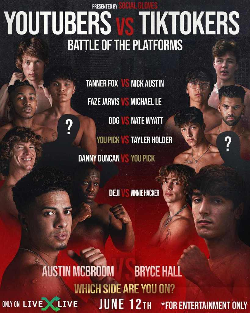 Social Gloves Battle of the Platforms  tickets