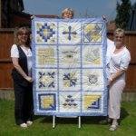 The 10th birthday quilt