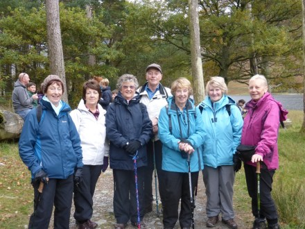 Local walk around Buttermere - October 2015