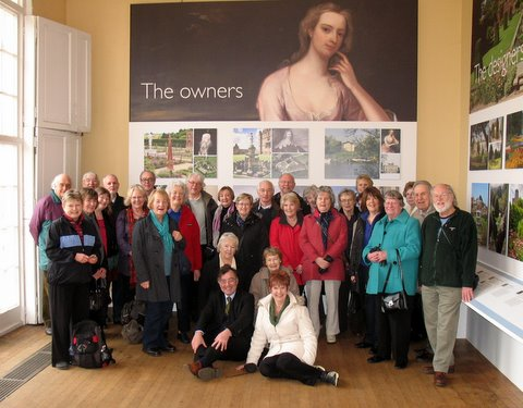The Art Appreciation Group at Kenwood House with their guide, Frank Milner, on the 2011 art tour, 'Adventurous Collectors and their Collections'