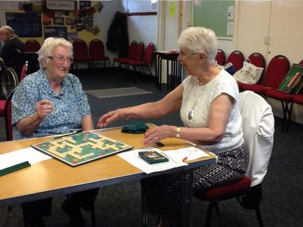There are several Board Game groups including Scrabble and various card games.