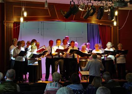U3A Choir performing