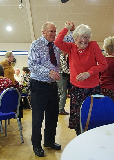 Dancing after the Christmas Lunch