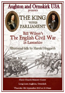 The Civil War in Lancashire - Harold Hoggarth @ Ministry Centre, Christ Church, Aughton