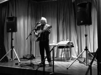 Ken Waters, singer/guitarist...