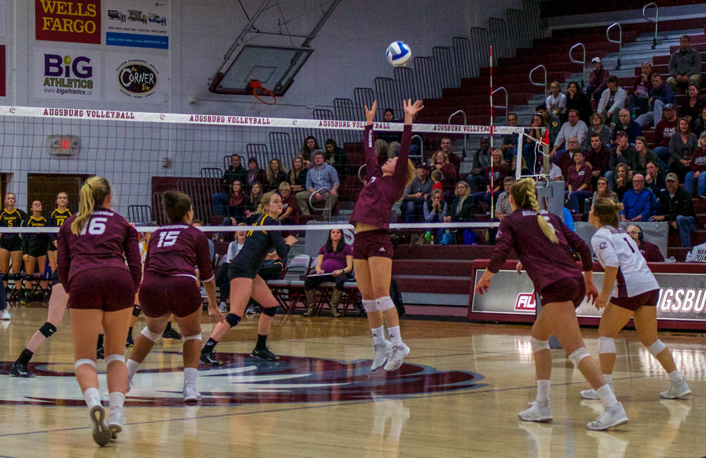Drama-filled playoffs lead to the big dance for Auggie volleyball