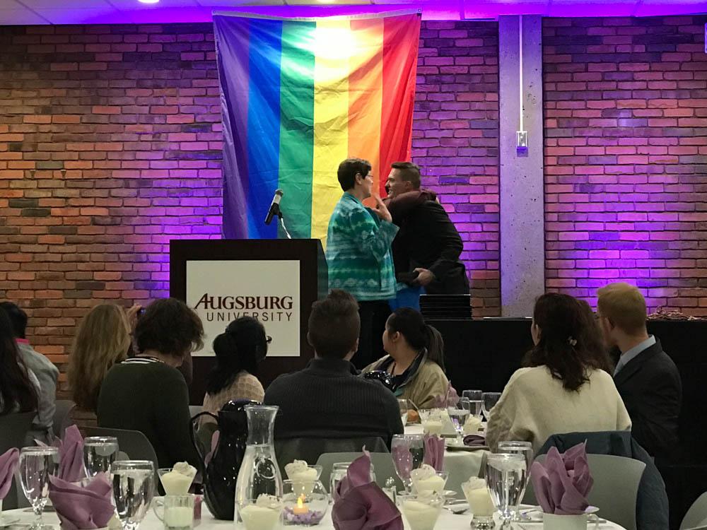 Lavender recognizes the LGBTQIA+ community