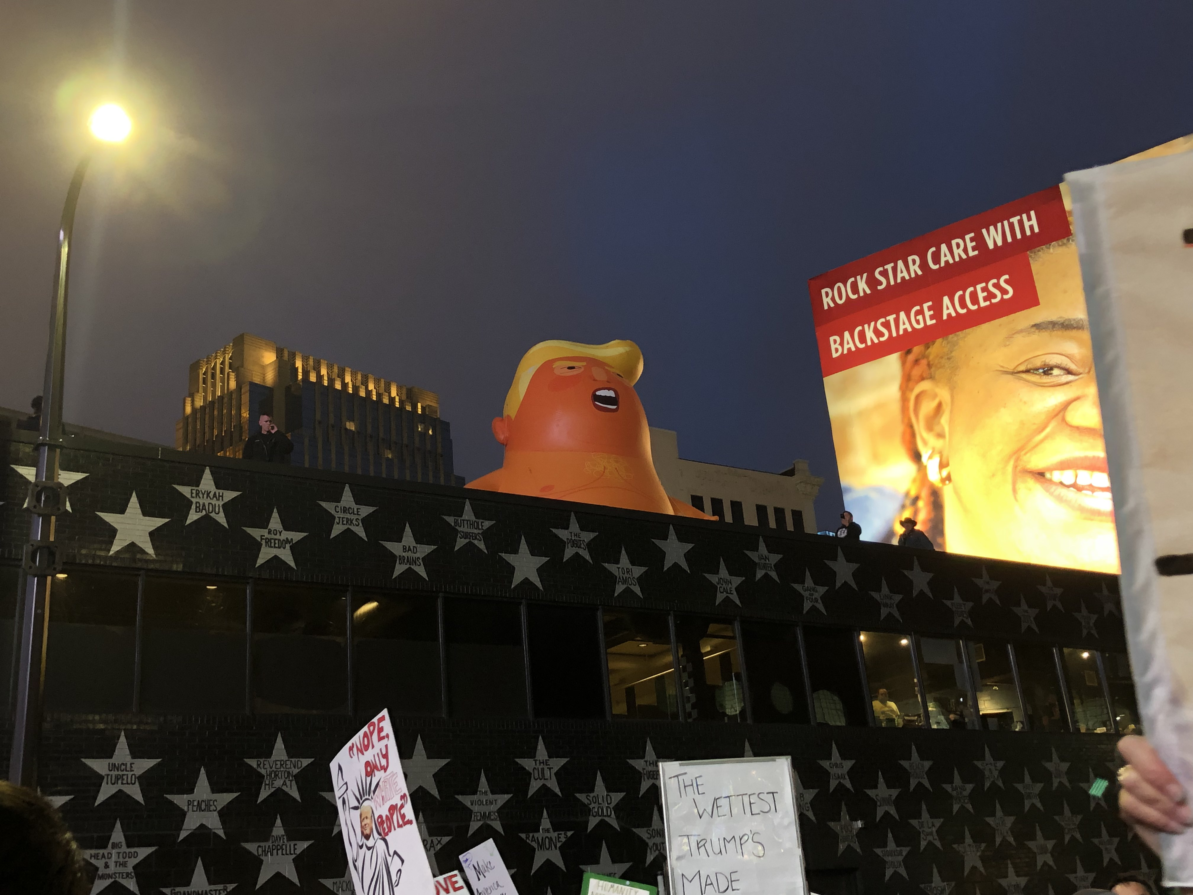 Trump Rally Sparks Protests