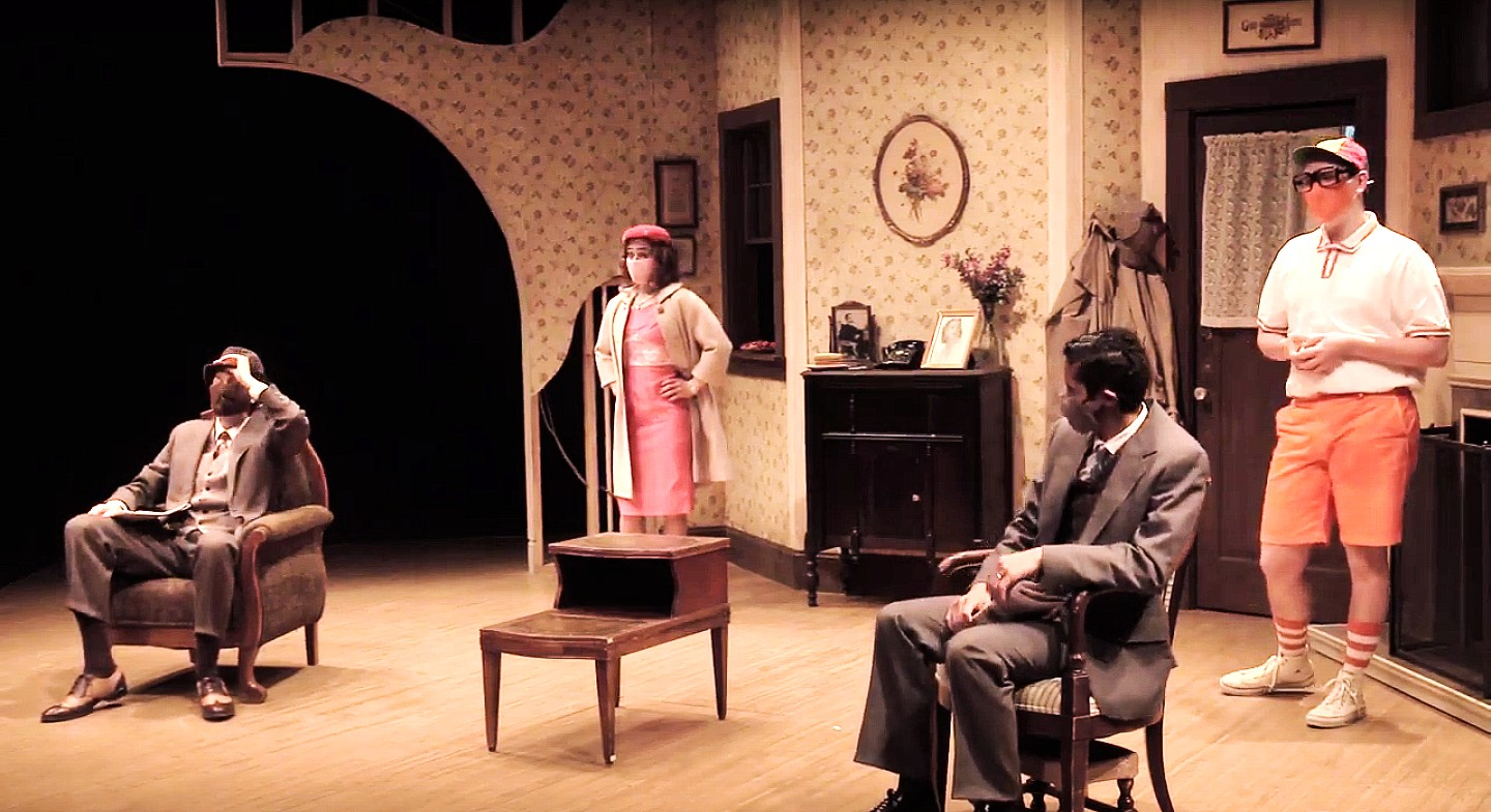 """""""Two Men and a Woman in a House"""" is the Offbeat Satire We All Needed"""