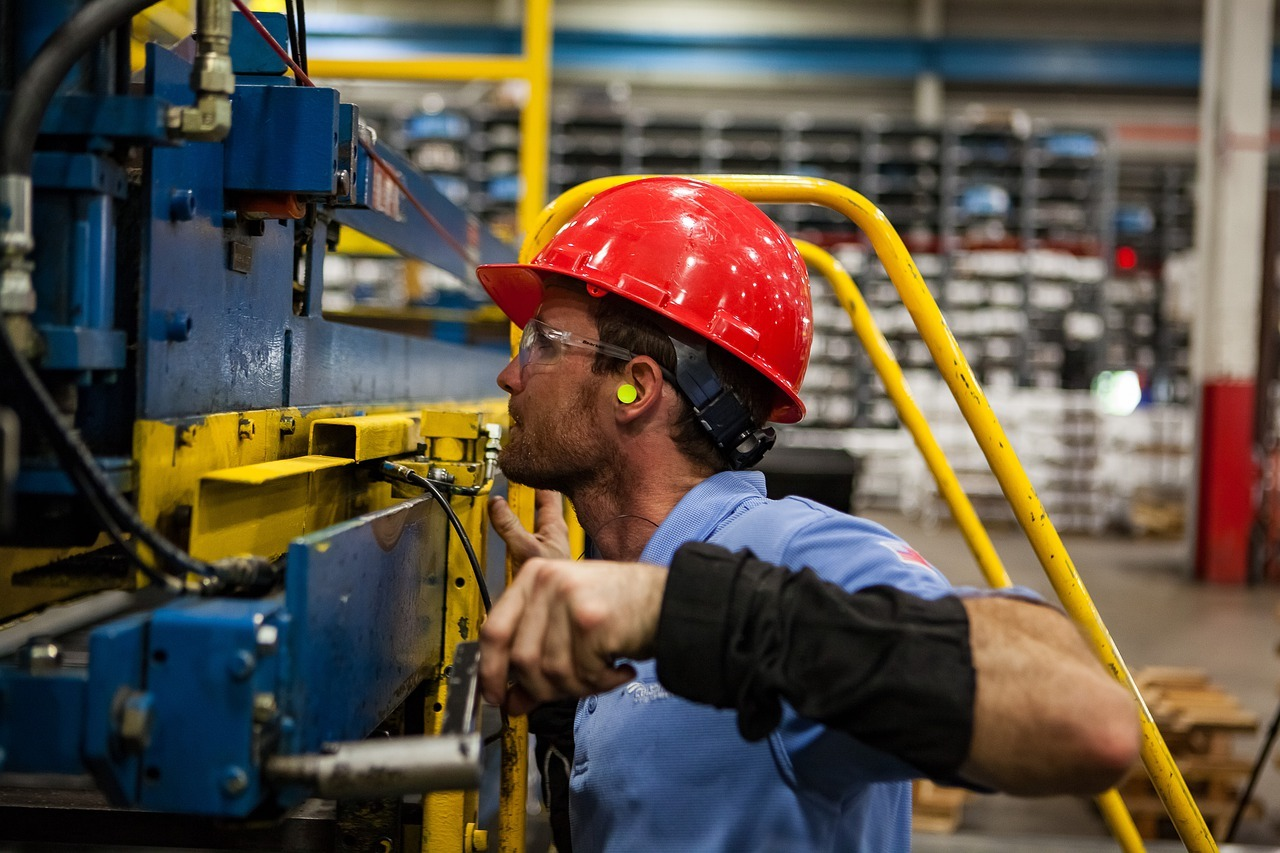 worker, industry, industrial