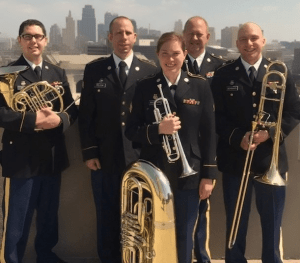 Bullseye Brass - Military Band @ Robert Shryock Park | Augusta | Kansas | United States