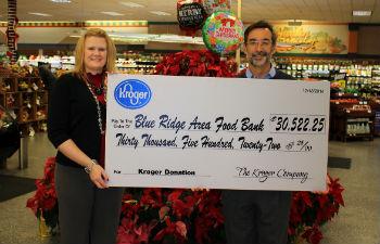 Kroger 343 Donation to BR Food Bank sm