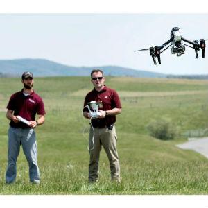 virginia tech drones