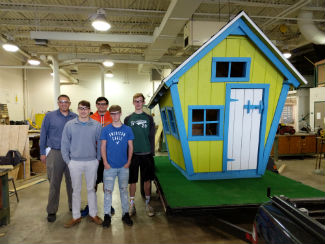 Central Valley Habitat for Humanity playhouse