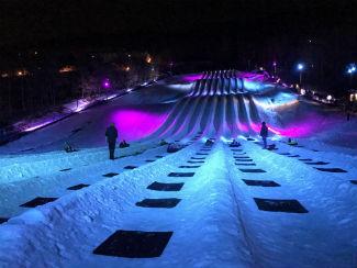 Massanutten Resort Opens Cosmic Snow Tubing