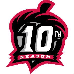 Richmond Flying Squirrels 10th season logo