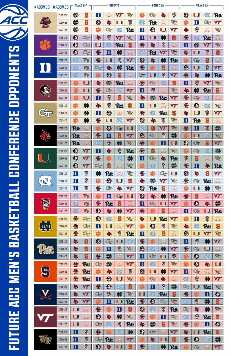 acc basketball 20-game schedule
