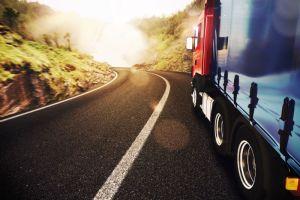 moving transport truck