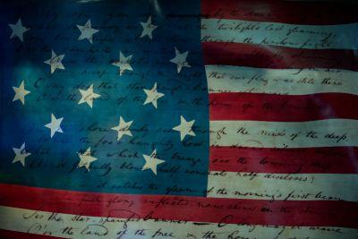 usa flag constitution