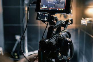 tv movie camera