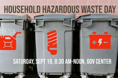 Household Hazardous Waste Clean-Up Day