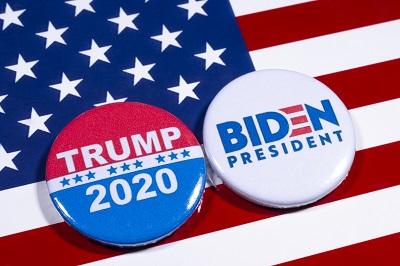 Trump v Biden 2020