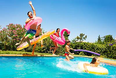 pool party kid teen swim business