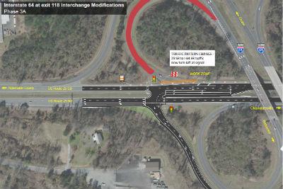 u.s. 29 interstate 64 exit 118
