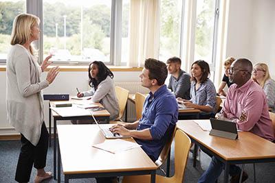 classroom tutor teacher student