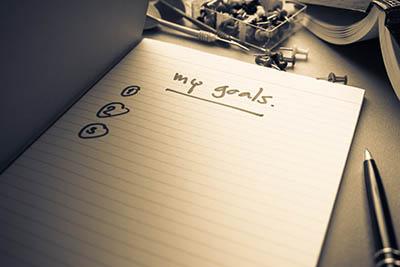 notebook goals