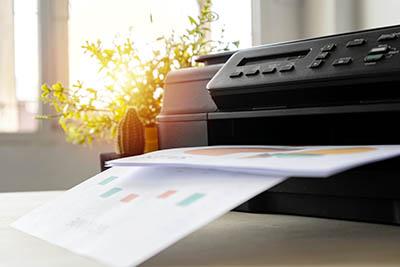 desk business printer