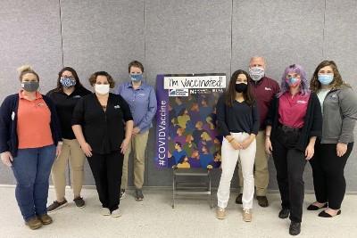 Madison County COVID-19 vaccination clinic