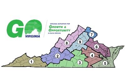 GO Virginia grants to assist with local workforce development, startups, infrastructure