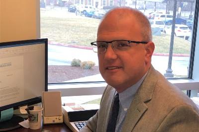 Harrisonburg Treasurer Jeff Shafer
