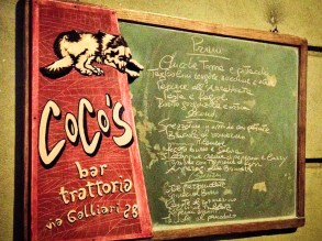 Coco's - il menu
