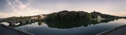 Panoramica Murazzi del Po