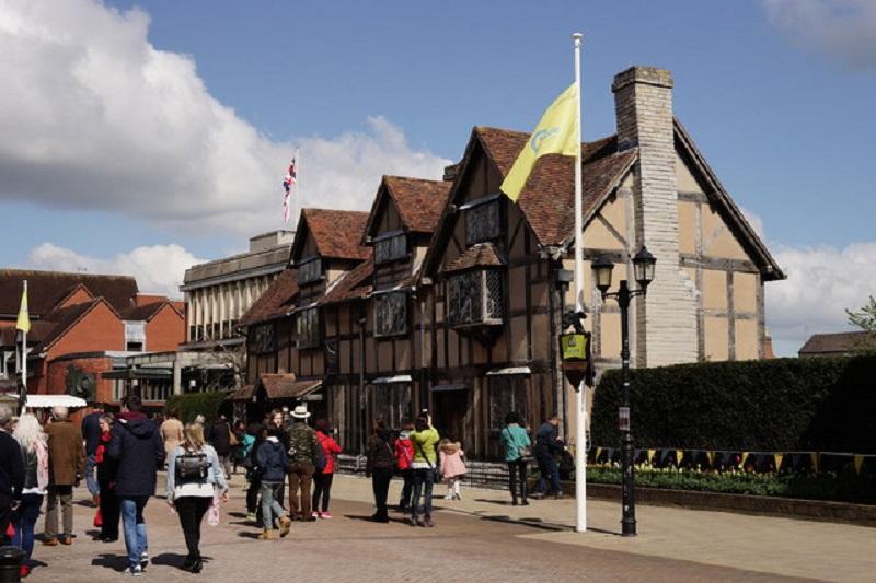 倫敦旅遊必去景點-斯特拉特福Stratford-莎士比亞的出生地Shakespeare's Birthplace
