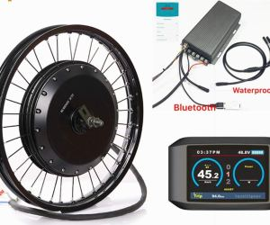TFT Color 750 Display, Sabvoton 72v 150Amp Controller, 8000W Ebike kit