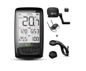 Wireless Bike Computer with Cadence/Speed Sensor