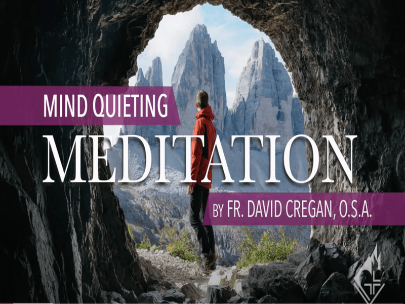 Mind Quieting Meditation in the Augustinian Tradition