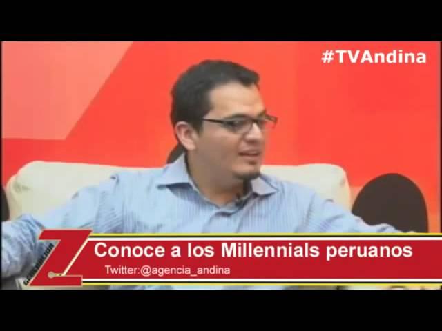 Conoce a los Millennials Peruanos – Augusto Ayesta en TV Andina