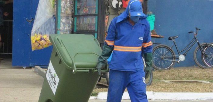 Prefeitura investe na limpeza da cidade