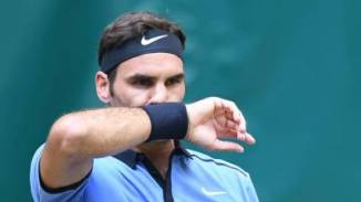 Federer-Halle-Grass
